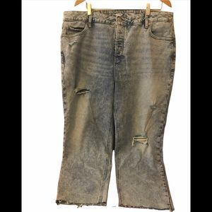 Old Navy Sky High straight jeans